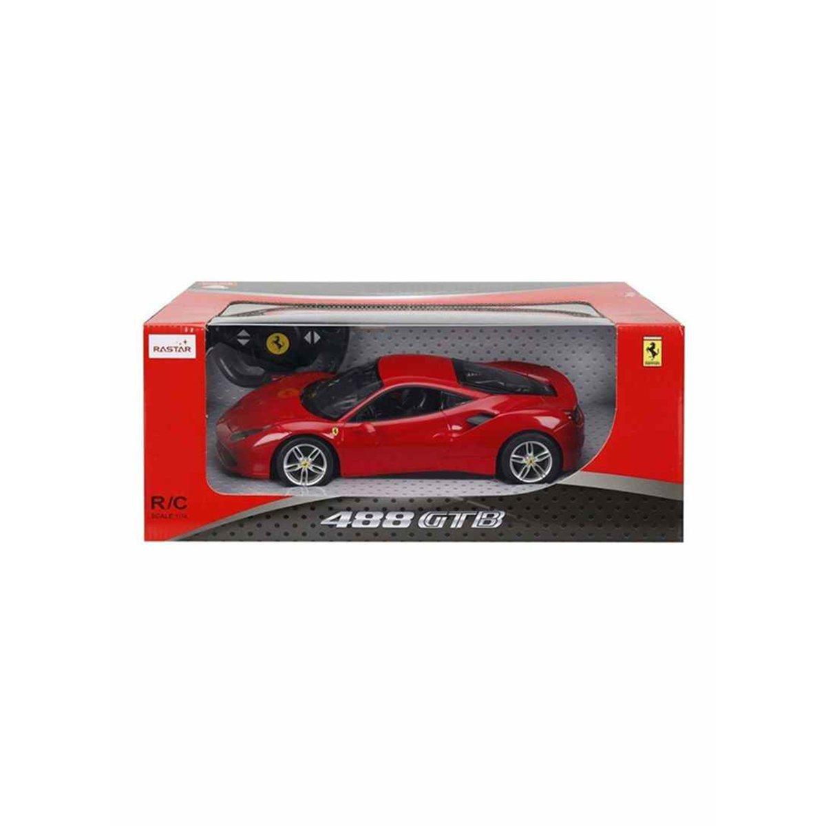 ماشین بازی کنترلی راستار مدل Ferrari 488 Gtb