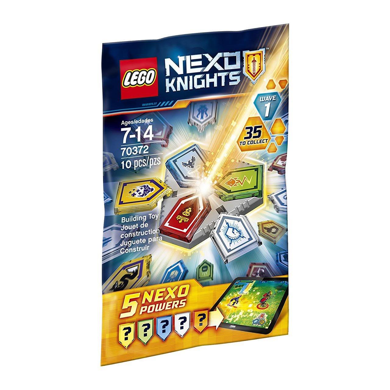 لگو سری Nexo Knights مدل  Combo Nexo Powers Wave1 70372