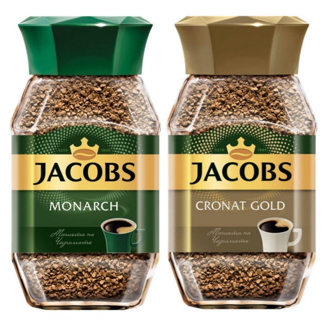 قهوه فوری جاکوبز 195 گرم مجموعه ۲ عددی