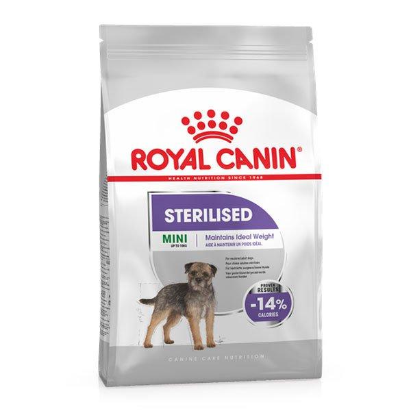 غذای خشک سگ رویال کنین مدل Sterilised وزن 3 کیلوگرم