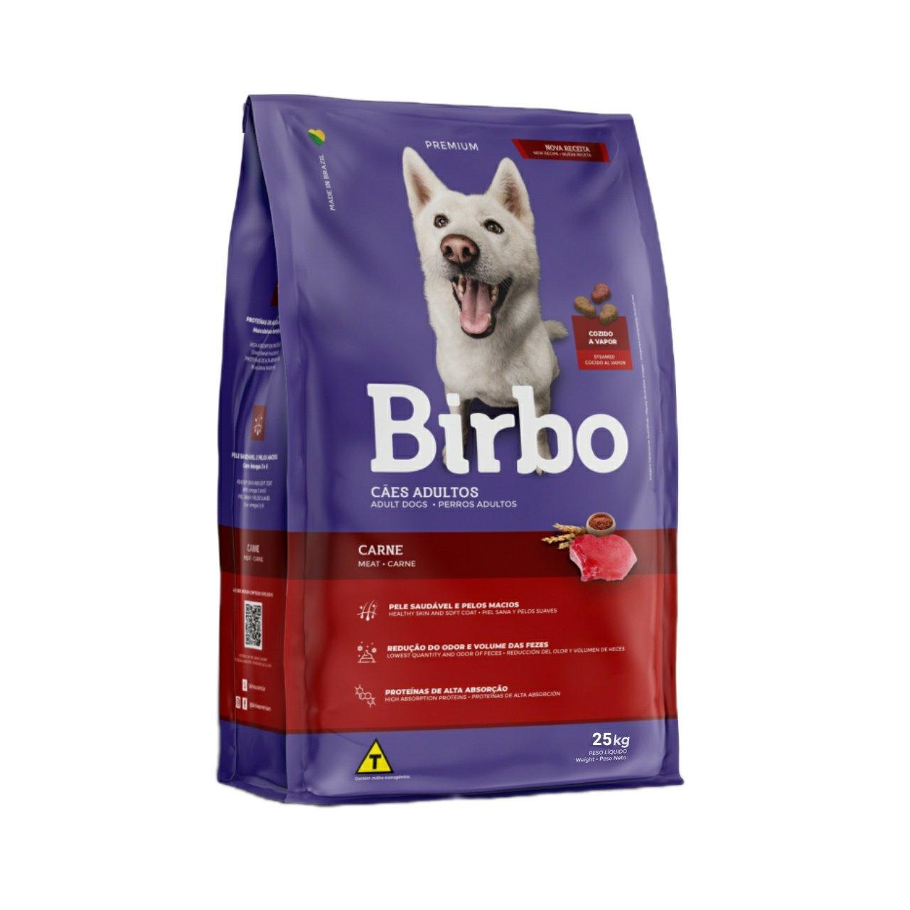 غذای خشک سگ بیربو مدل گوشت و برنج وزن 25 کیلوگرم