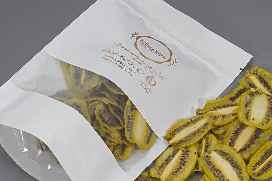 میوه خشک کیوی 250 گرم وجیسنک