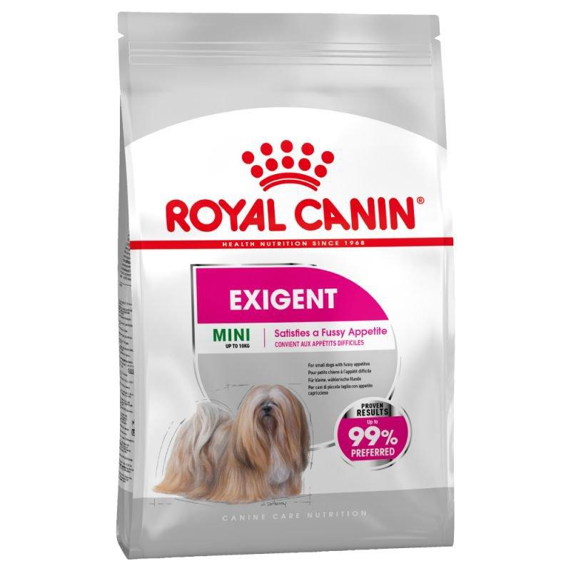 غذای خشک سگ رویال کنین مدل  Exigent وزن 3 کیلوگرم