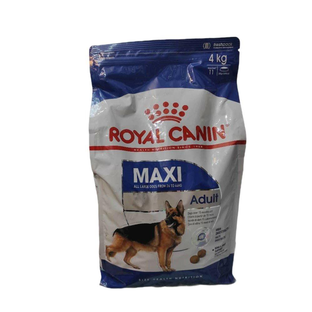غذای خشک سگ رویال کنین مدل maxi adult وزن 4000 گرم