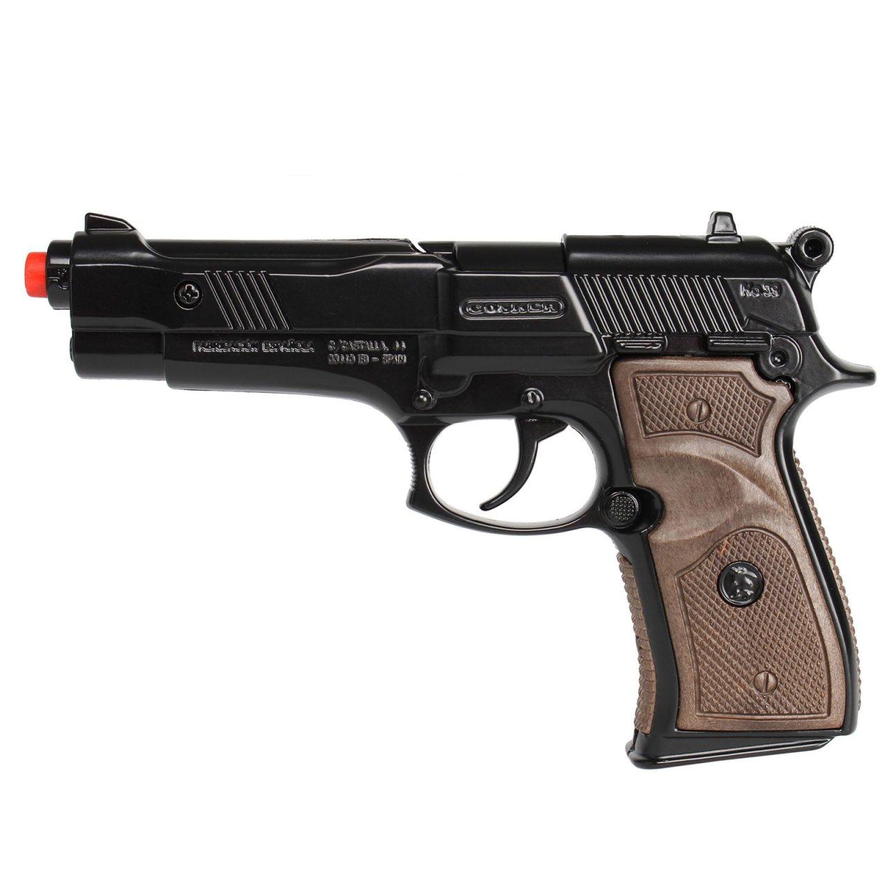 تفنگ بازی گانهر مدل پلیس کد 396