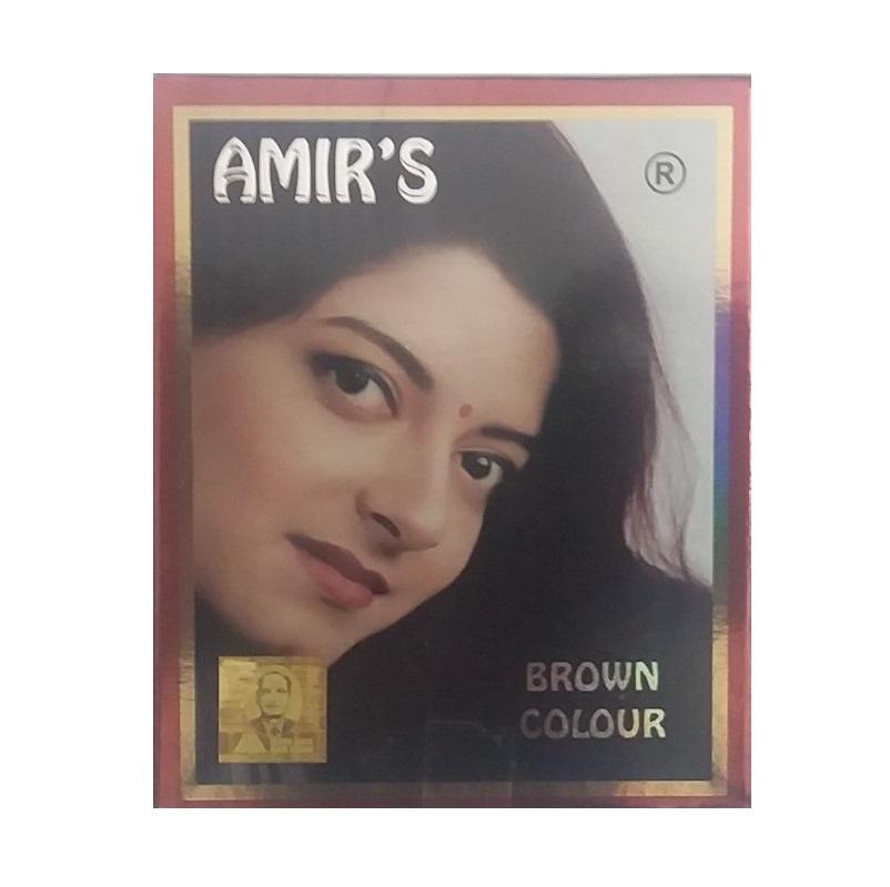 حنا هندی امیر حجم 10 میلی لیتر رنگ قهوه ای