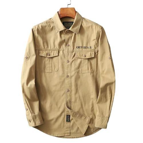 پیراهن مردانه کتان مارک افرود