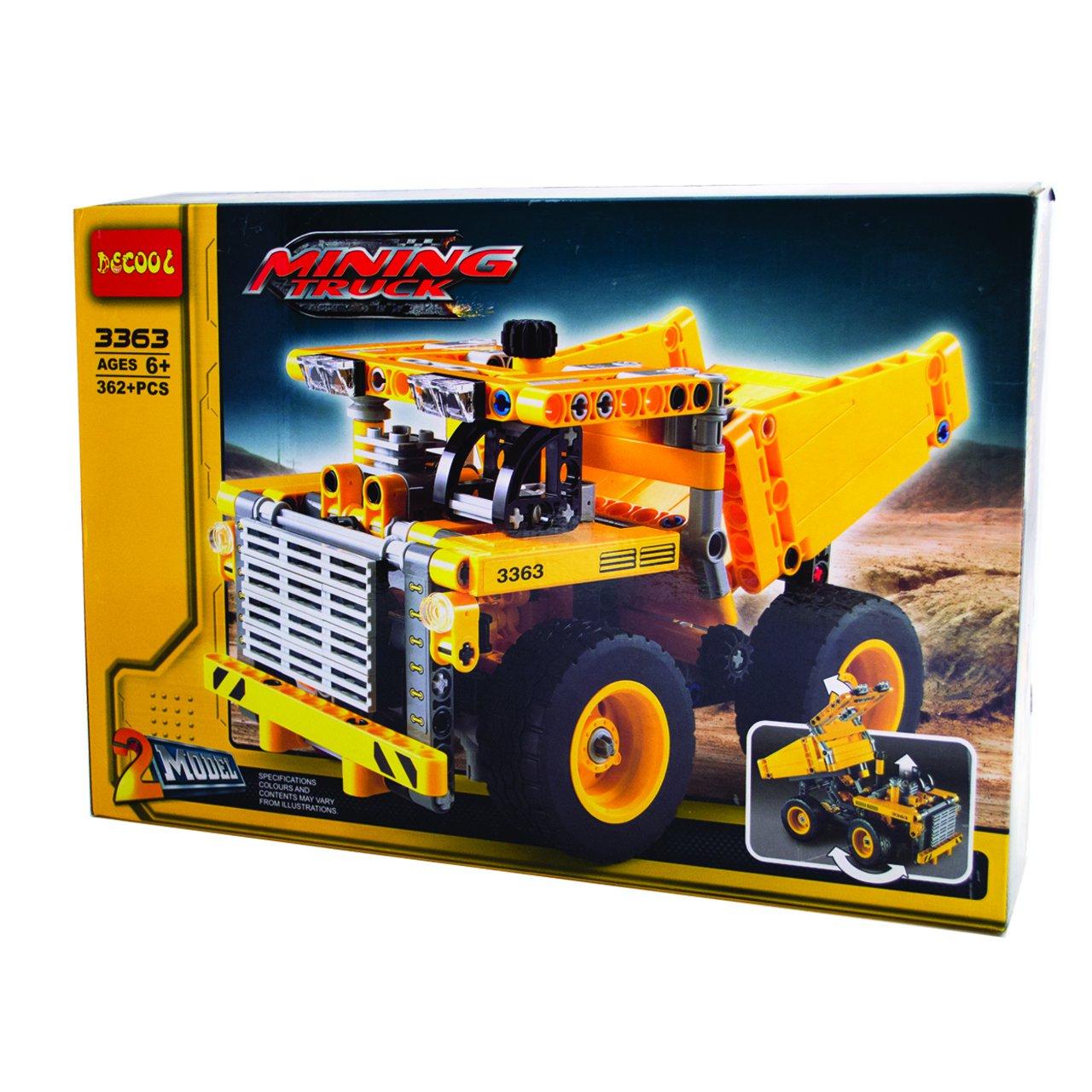 ساختنی دکول طرح ماشین راه سازی مدل mining truck کد 3363